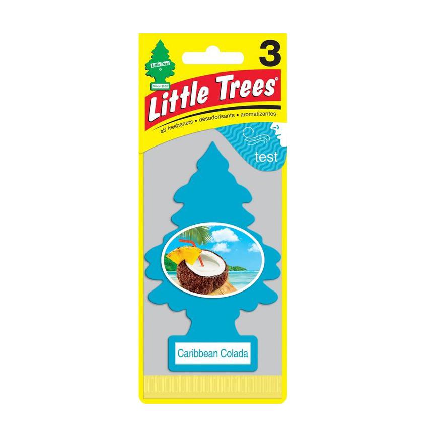 Ароматизатор ёлочка Little Trees Карибский коктейль