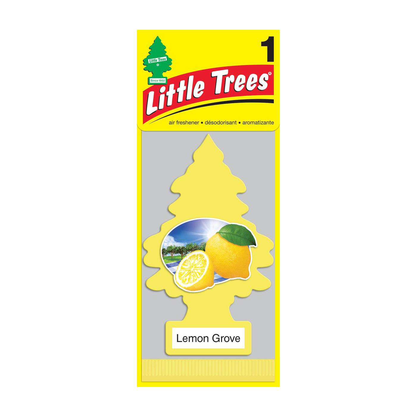 Ароматизатор ёлочка Little Trees Лимонный сад.