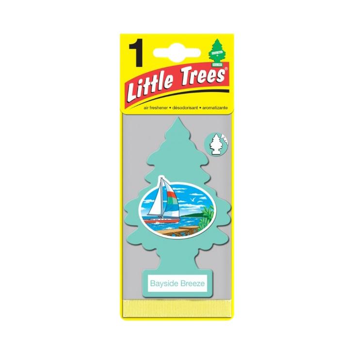 Ароматизатор ёлочка Little Trees Прибрежный бриз.