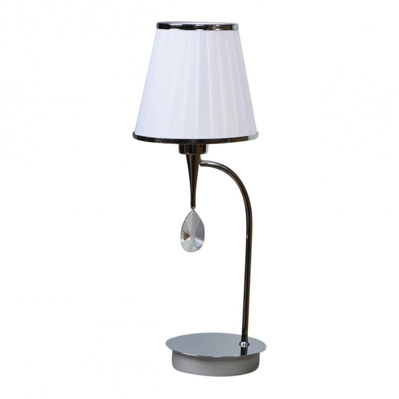 Лампа настольная Brizzi ma 01625t/001 chrome настольная лампа brizzi ma 01625t 001 bronze cream