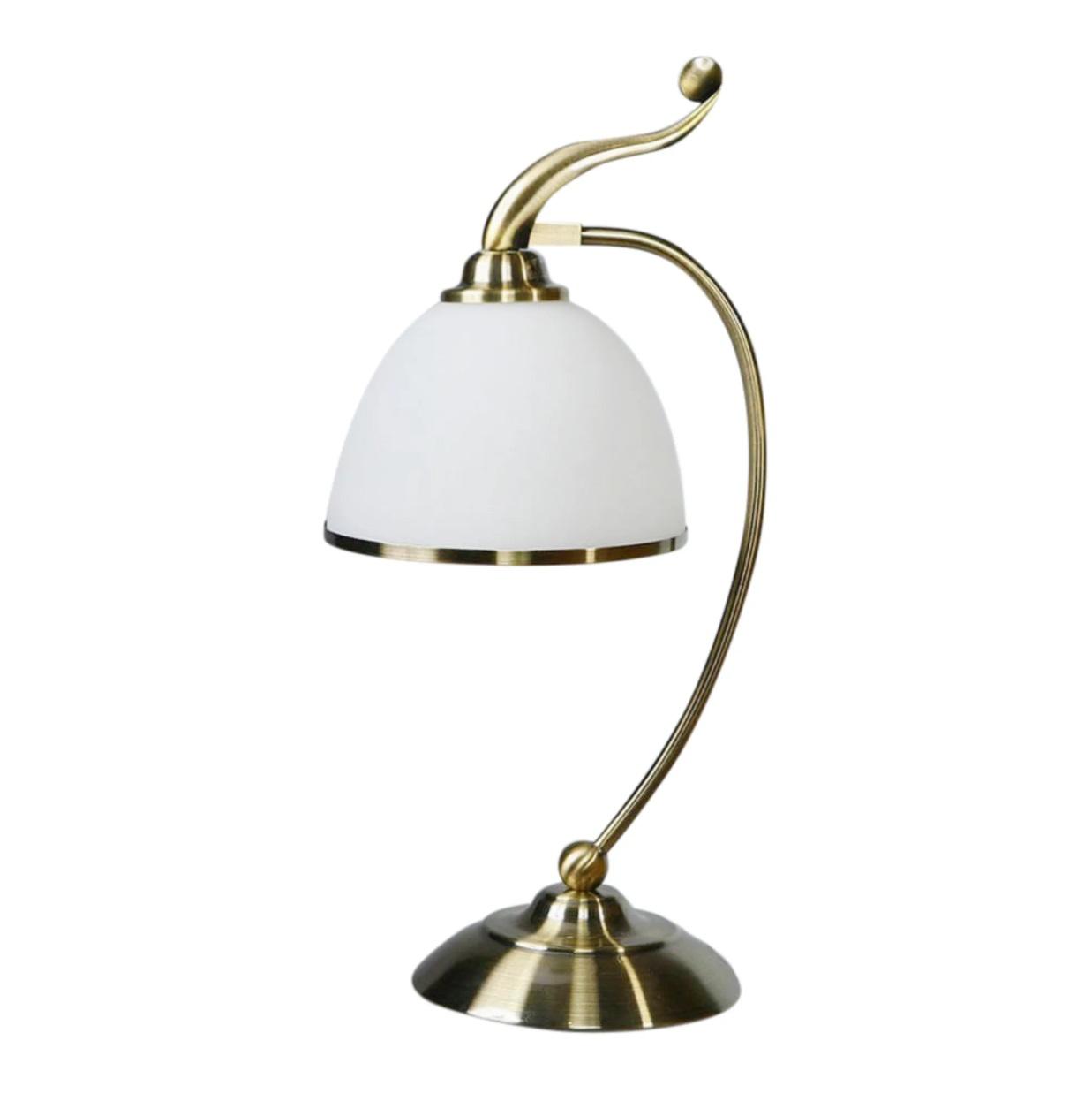 Лампа настольная Brizzi ma 02401t/001 bronze настольная лампа brizzi ma 01625t 001 bronze cream