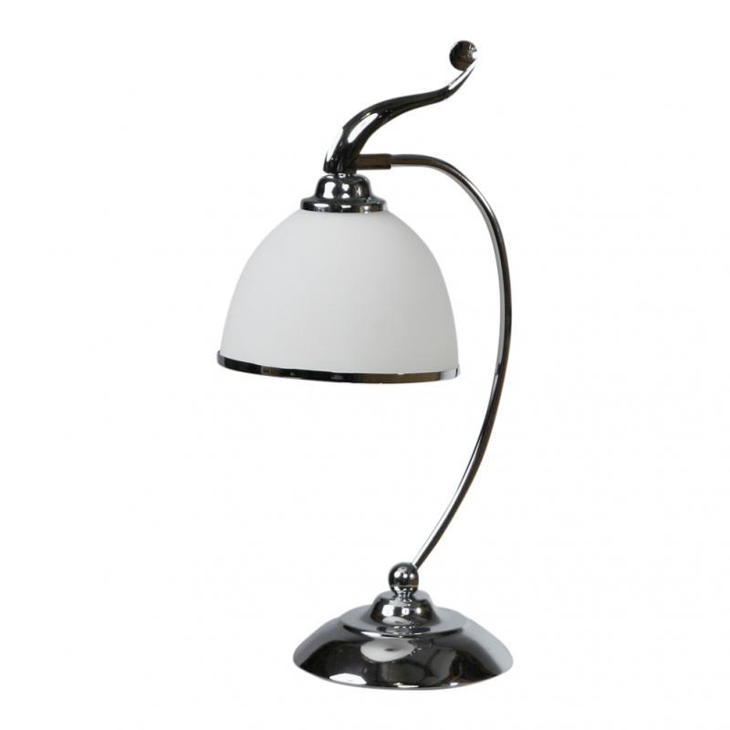 Лампа настольная Brizzi ma 02401t/001 chrome настольная лампа brizzi ma 01625t 001 bronze cream