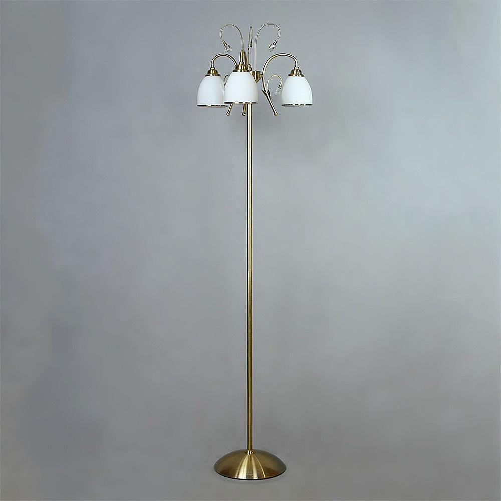 Торшер Brizzi ma 02640f/003 bronze