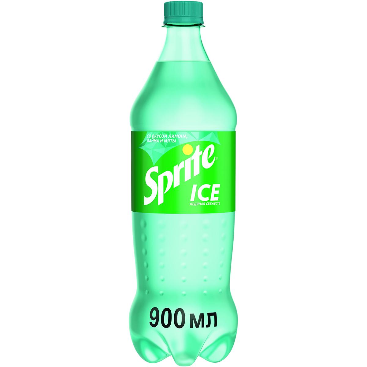 Напиток газированный Sprite Лимон-Мята zero 0,9 л