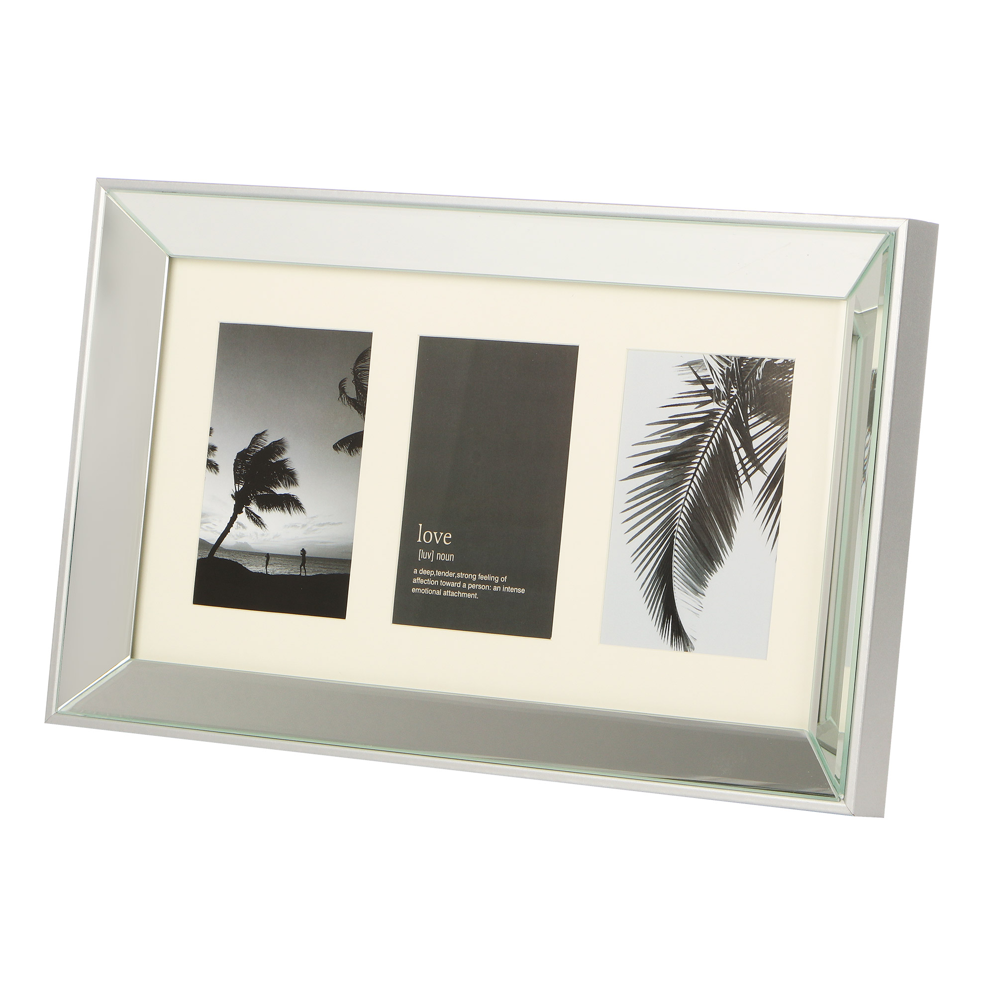 Фоторамка зеркальная H.. Frames 27.6х46.6х3см 3 фото
