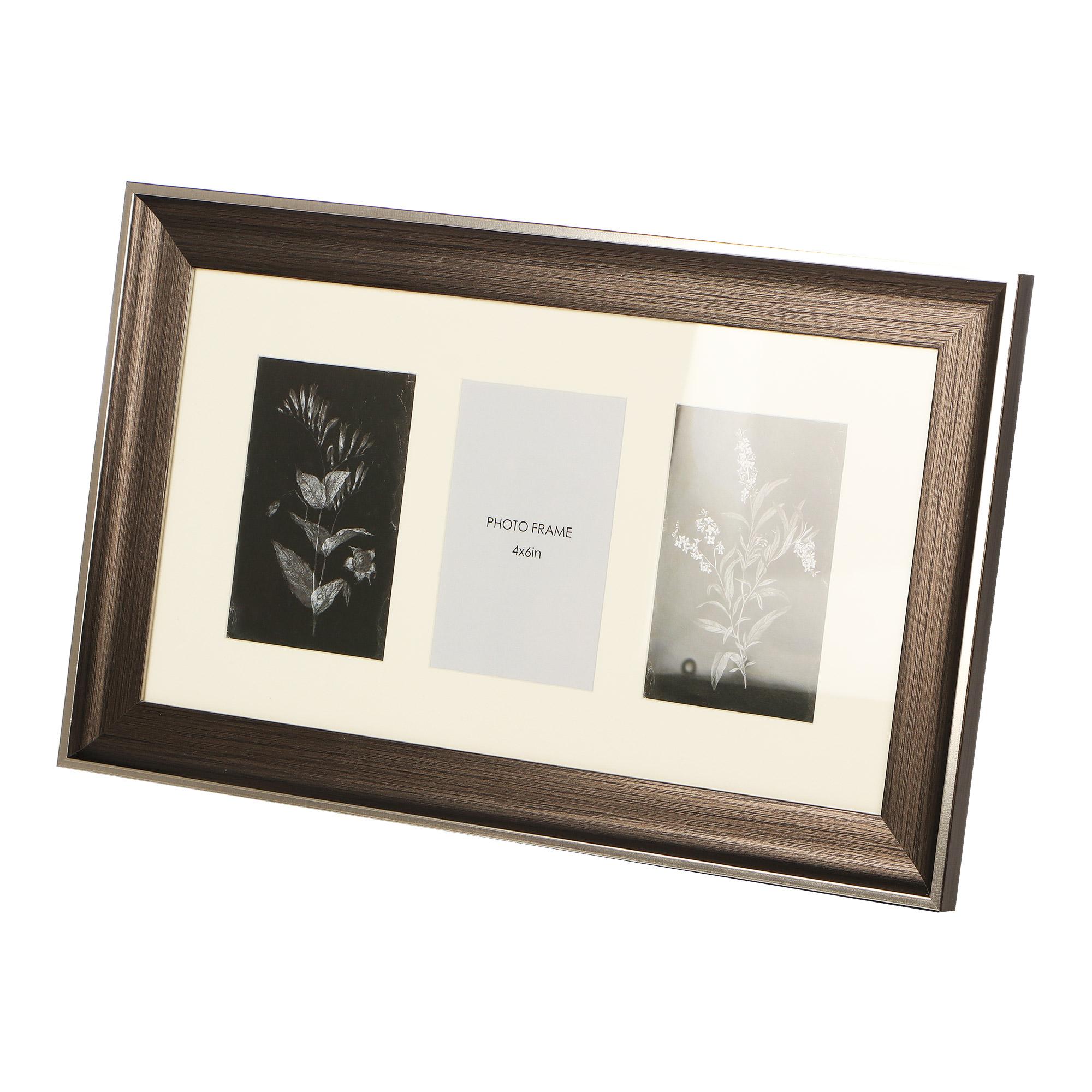 Фоторамка черная H.. Frames 3 фото 48.6х29.6х2.2см