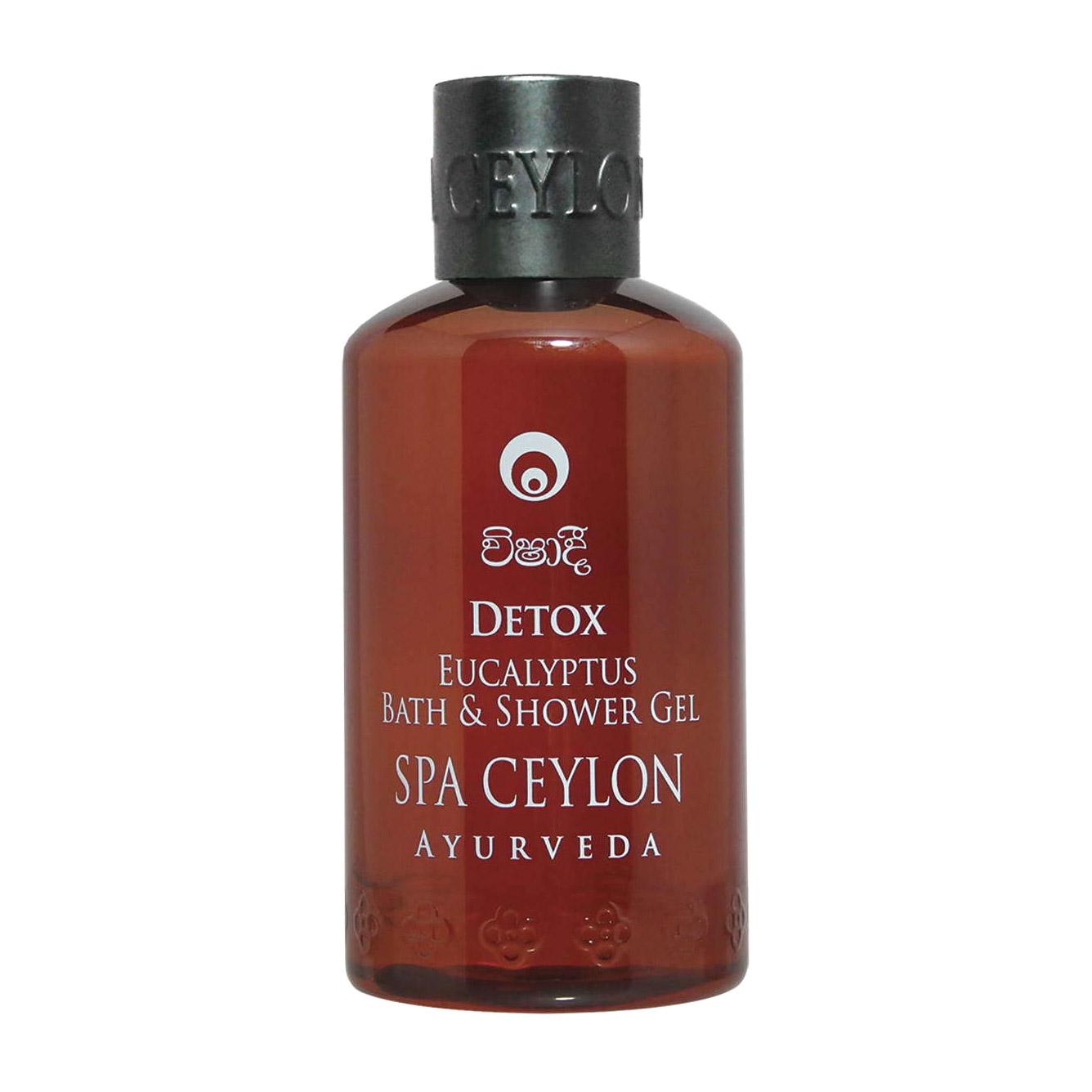 Натуральный аюрведический гель для ванны и душа с эвкалиптом Spa Ceylon ДЕТОКС 250 мл недорого