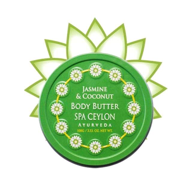 набор spa ceylon ayurveda spa Ультрапитательный баттер для тела Spa Ceylon жасмин и кокос 100 г