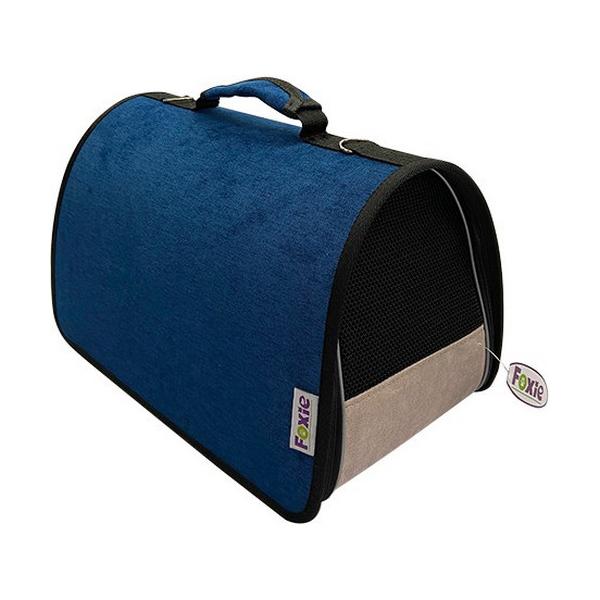 Сумка-переноска для животных Foxie Colour 37x22x21 см Синий.