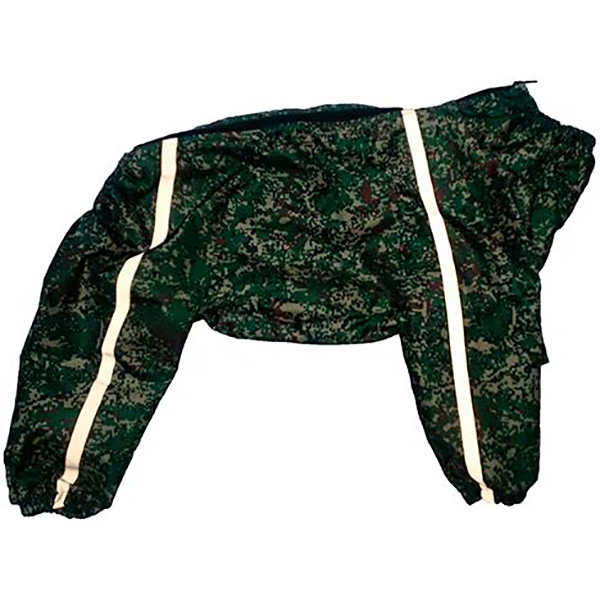 Комбинезон-плащ для собак ДОГ МАСТЕР для средних пород 40-45 см комбинезон плащ для собак дог мастер на подкладке с отделкой размер xxxl 38 см