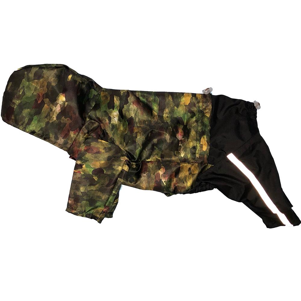 Комбинезон для собак ДОГ МАСТЕР Плащ Джек-рассел унисекс XL 32 см комбинезон плащ для собак дог мастер на подкладке с отделкой размер xxxl 38 см