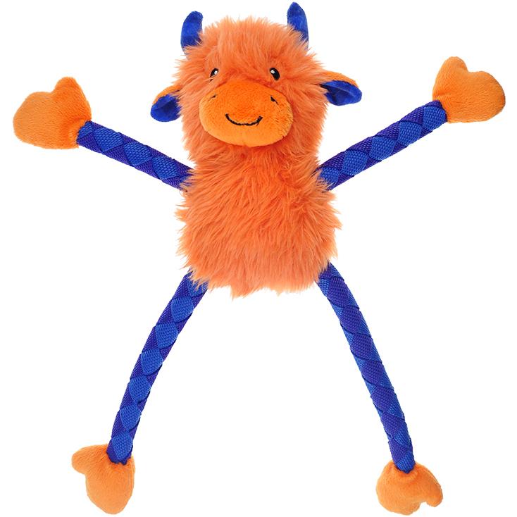 Игрушка для собак CHOMPER Meadow Звери с длинными лапами и пищалкой 23 см.
