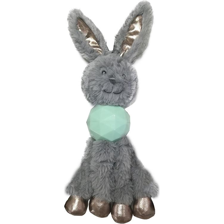 Игрушка для собак CHOMPER Enchanted Forest Кролик с длинными лапами и пищалкой 34 см.