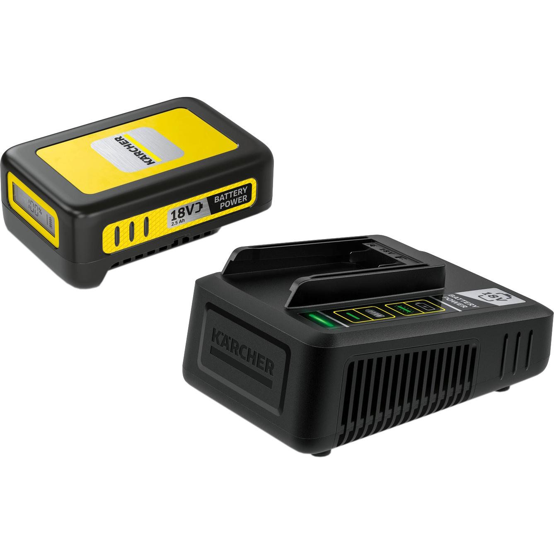 Стартовый комплект Karcher Battery Power 18/25 аккумулятор зарядное устройство karcher starter kit battery power 36 25 2 445 064