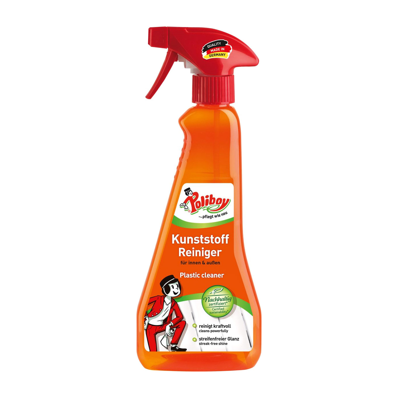 Средство для ухода за пластиковыми поверхностями Poliboy Organic 375 мл poliboy средство по уходу за пластиковыми поверхностями kunstoff reiniger 0 375 л