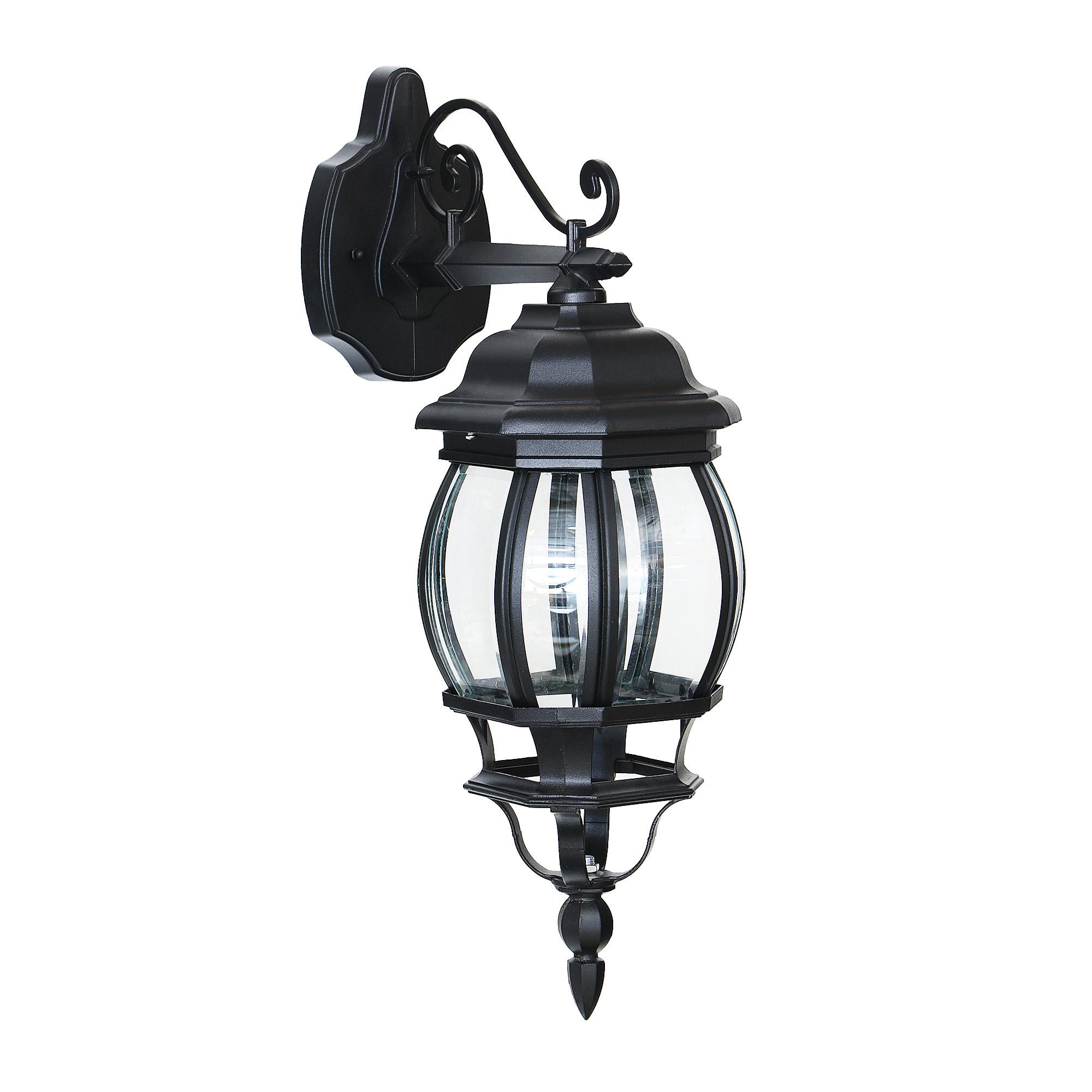 Светильник садовый настенный Amber lamp 8042B светильник садовый настенный amber lamp 8001sb