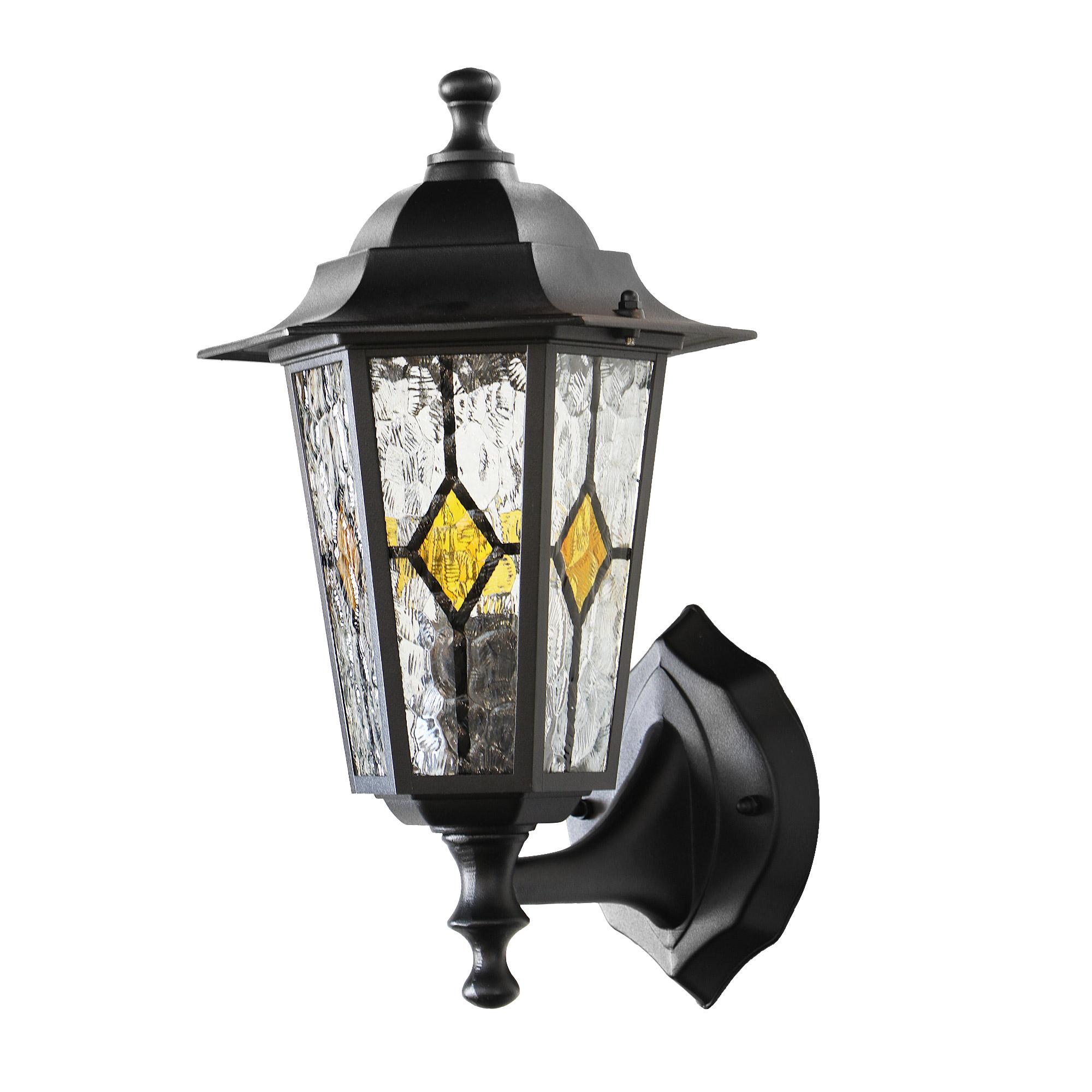 Светильник садовый настенный Amber lamp 8001SB светильник садовый настенный amber lamp 8001sb