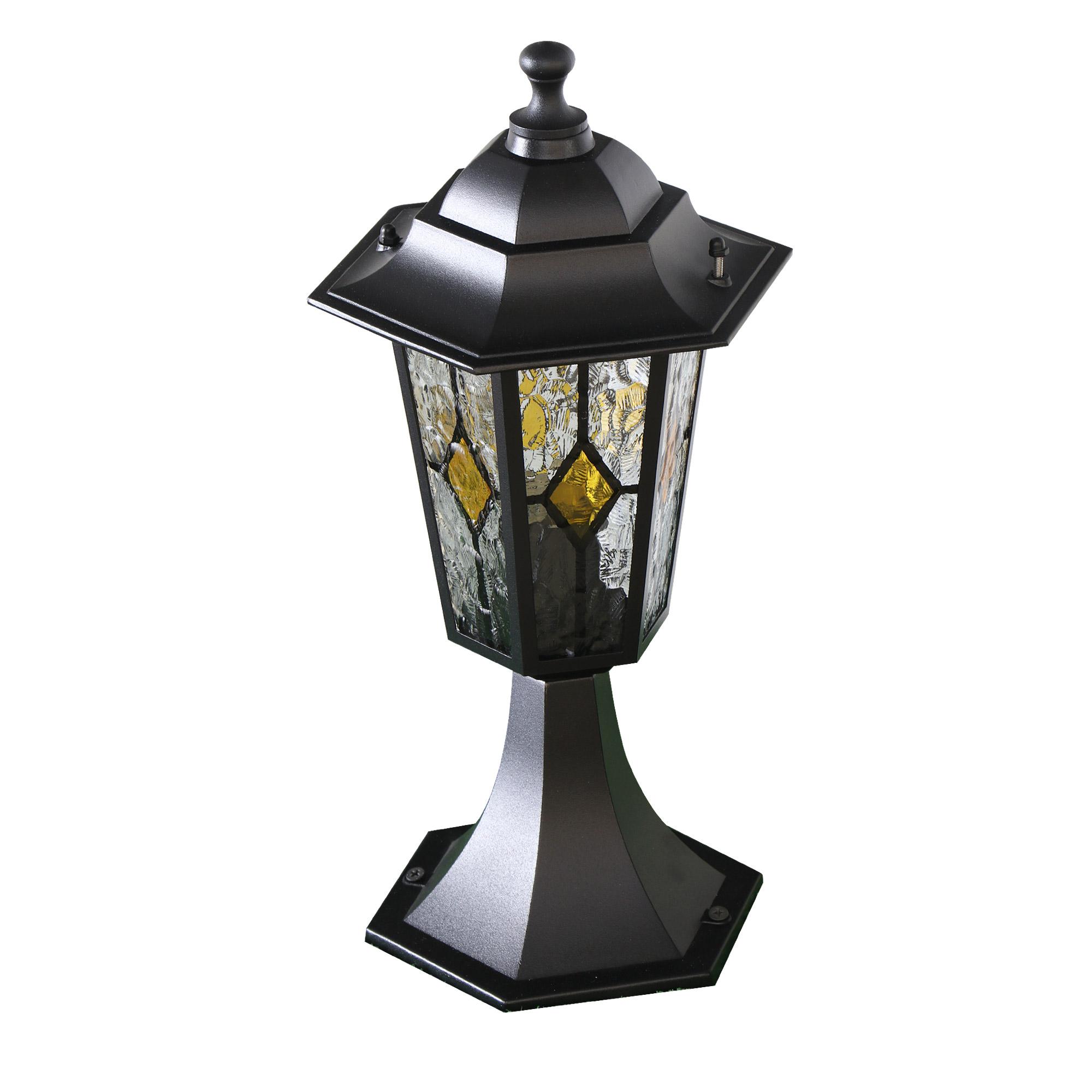 Светильник садовый Amber lamp 8004SB