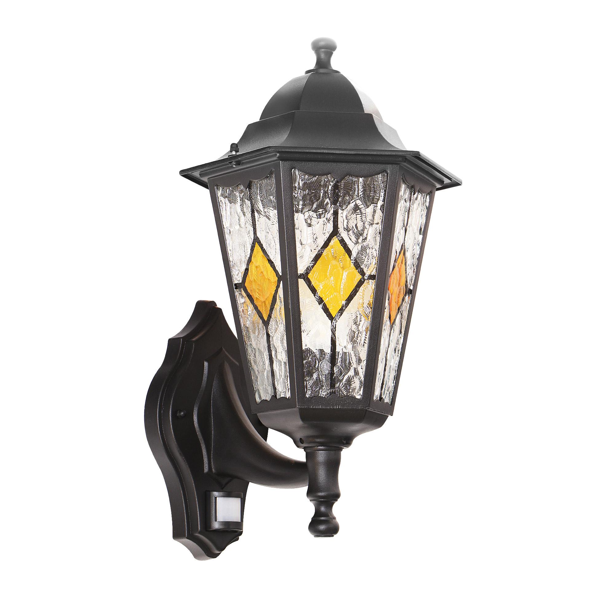 Светильник садовый настенный Amber lamp 8006LBB светильник садовый настенный amber lamp 8001sb