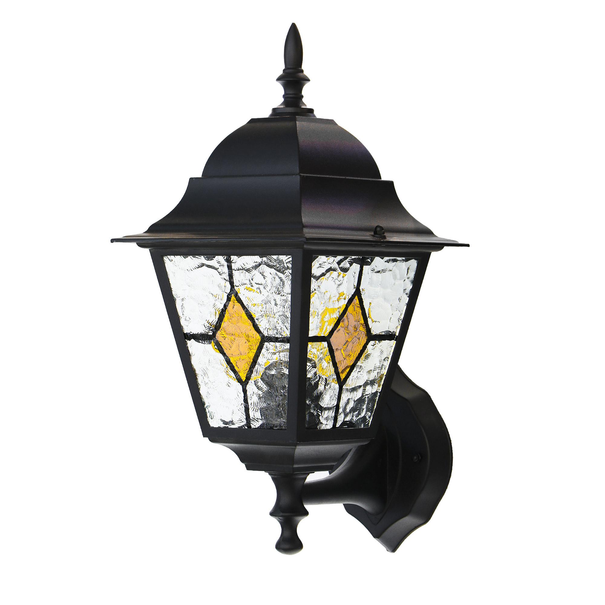 Светильник садовый настенный Amber lamp 8011LHB светильник садовый настенный amber lamp 8001sb