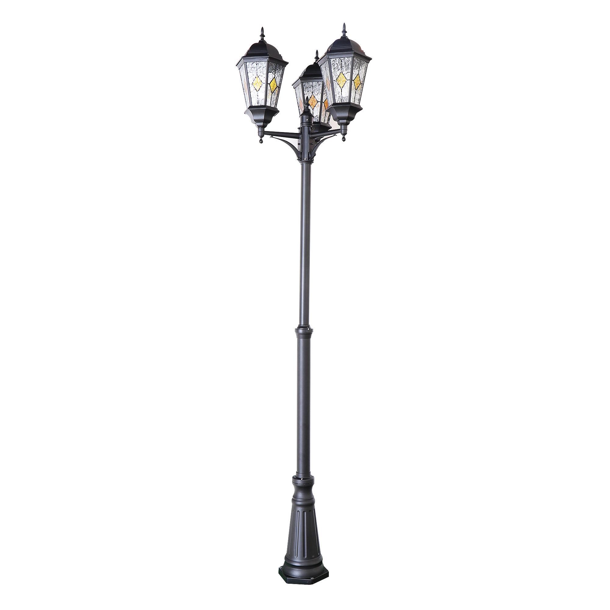 Светильник садовый Amber lamp 8357-3B