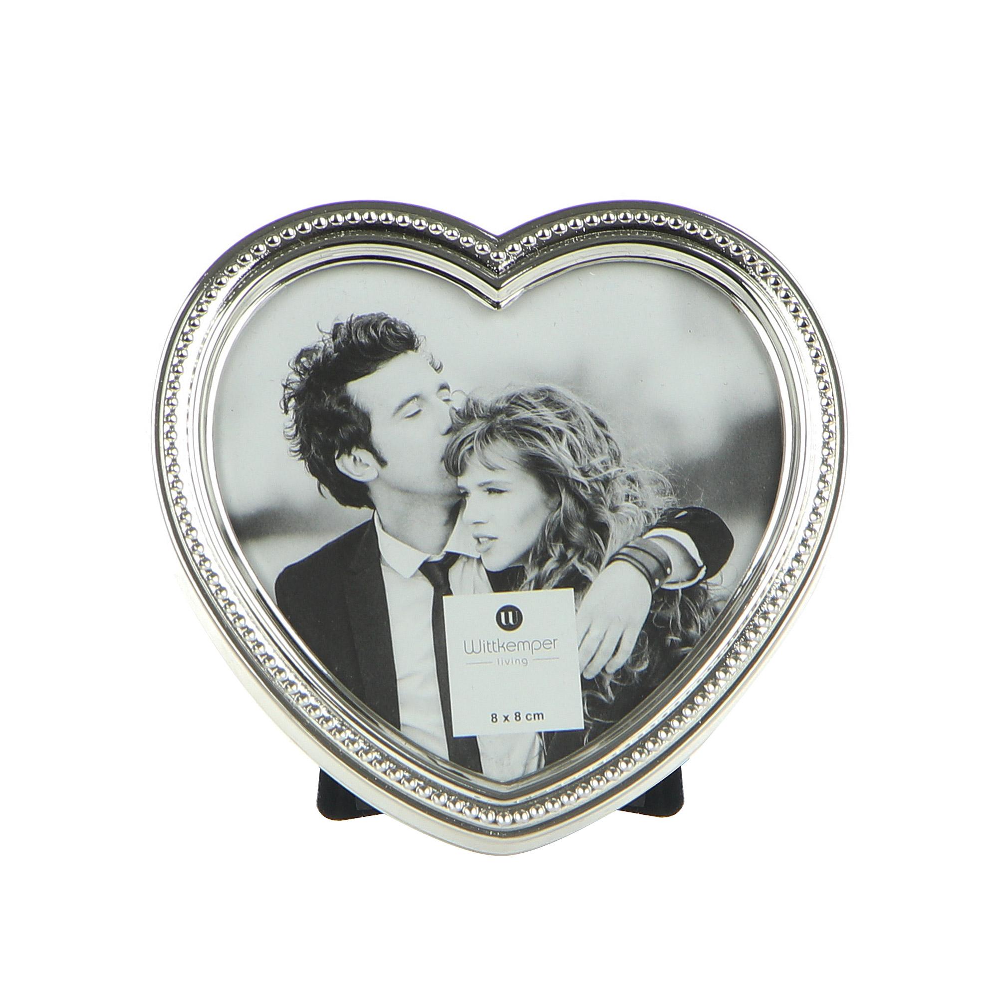 Рамка для фотографий Wittkemper dots сердце 8х8см