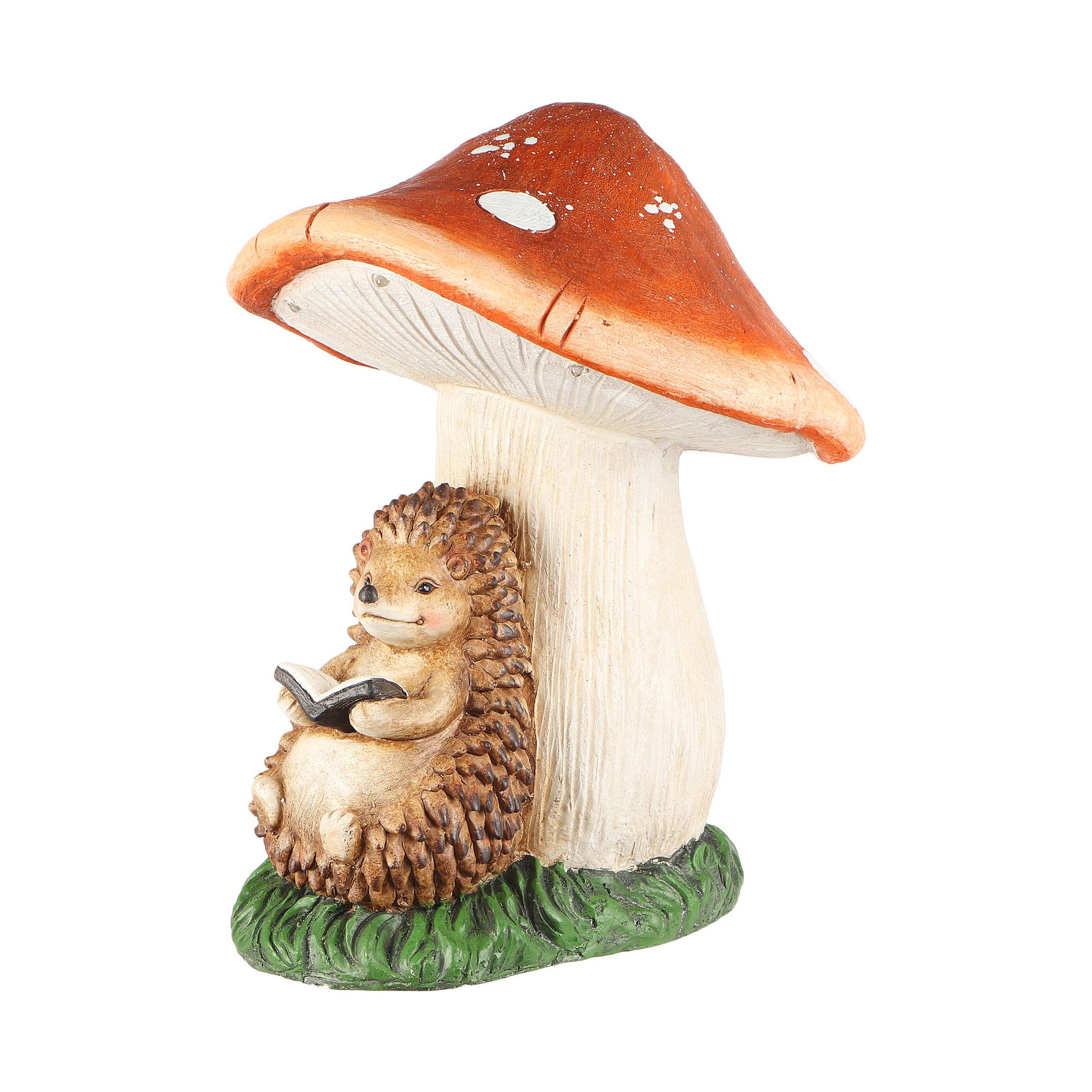 Фото - Фигура садовая Foryoucraft еж под грибом 30.5х30х36.3см фигура садовая гусеница 30х15х14см