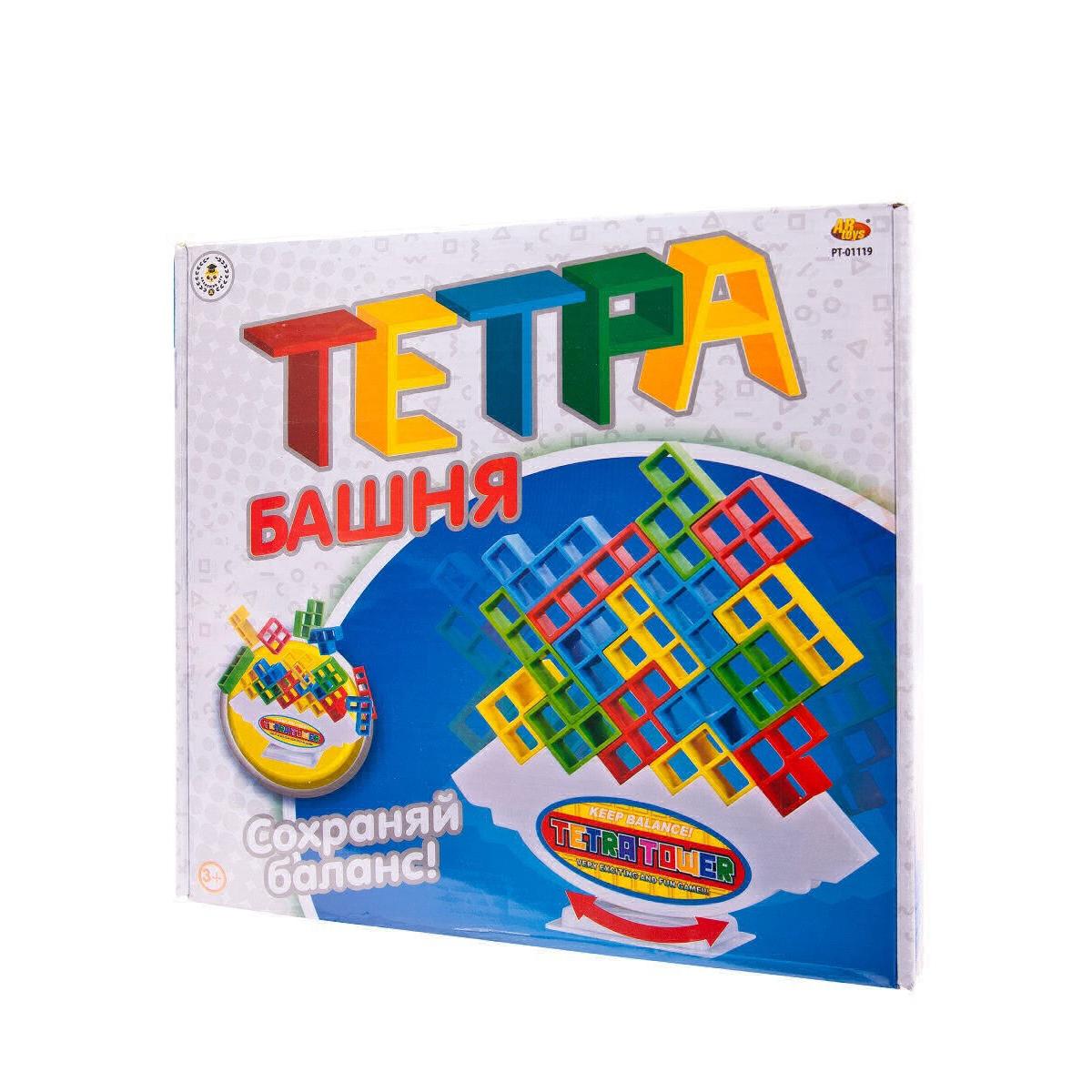 Игра настольная ABtoys Башня PT-01119 настольная игра abtoys мир домино pt 00820