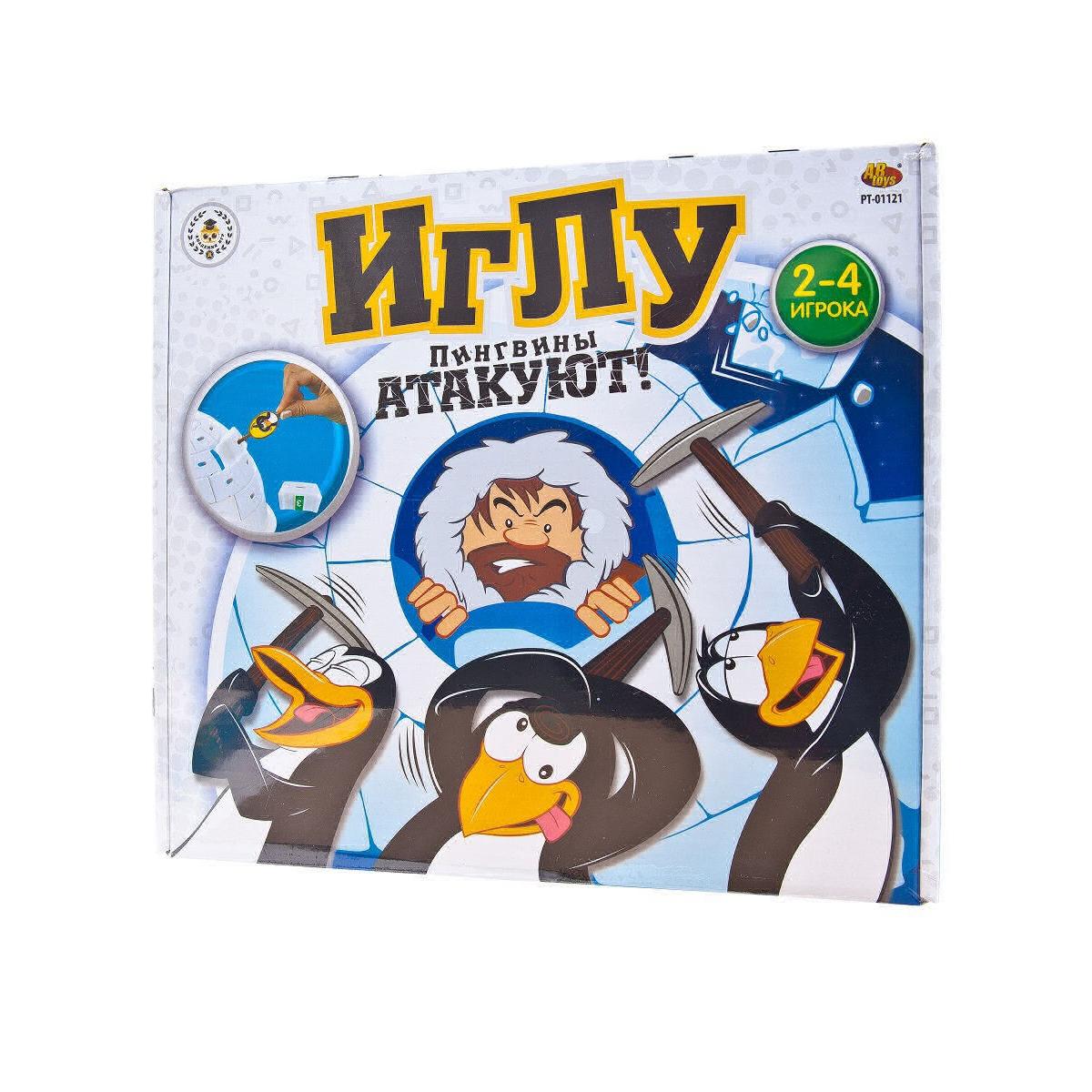 Игра настольная ABtoys Иглу PT-01121 настольная игра abtoys мир домино pt 00820