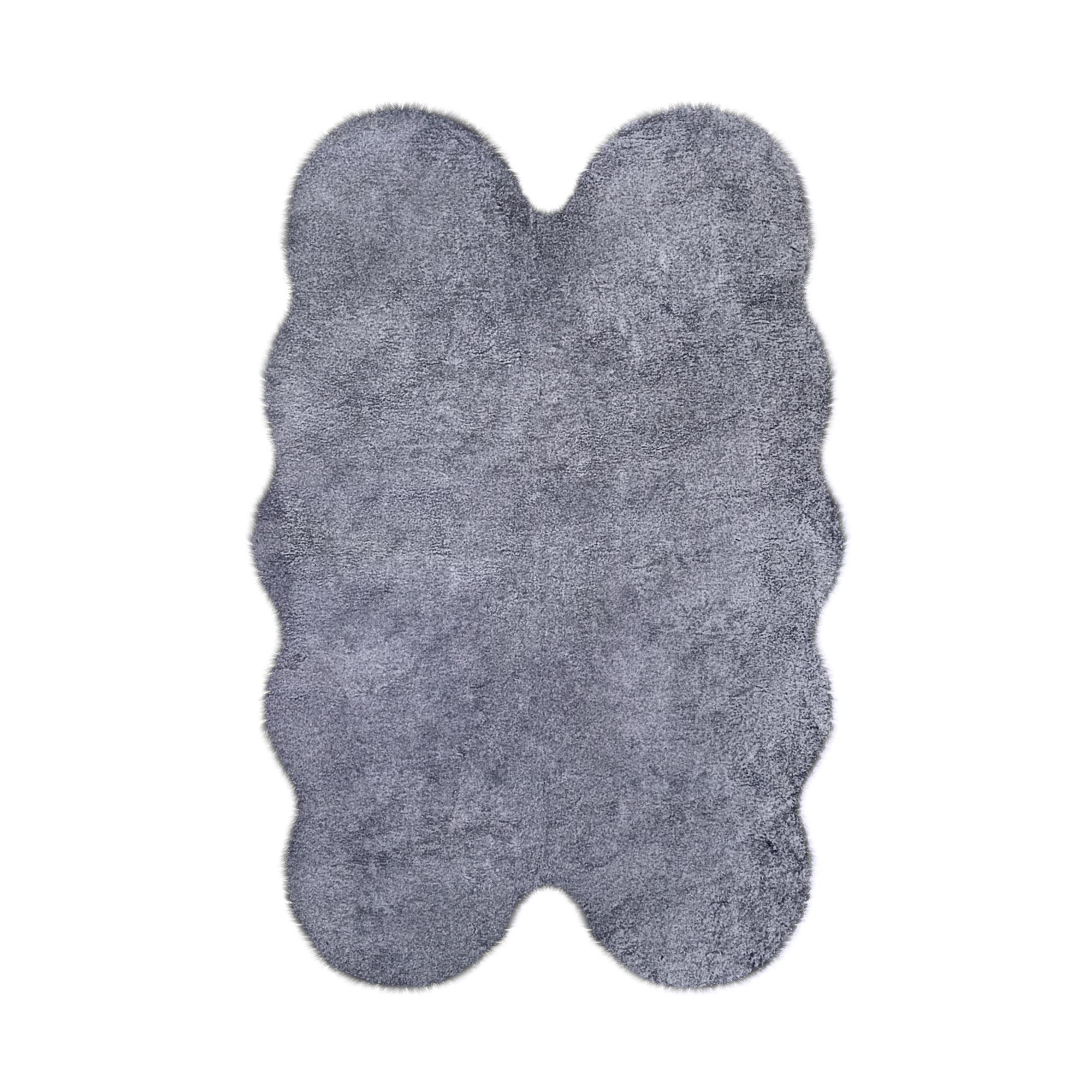 Шкура Ковровые галереи 120х180 кролик искусственный bl.tip wh 4шк фото
