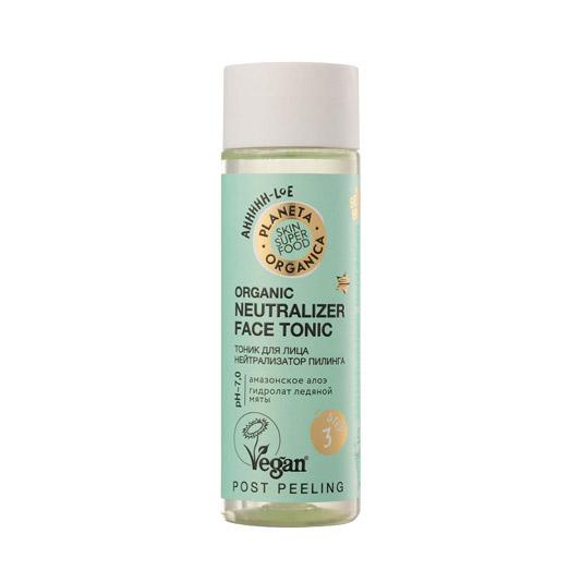 Тоник для лица Нейтрализатор пилинга Organic Neutralizer Face Tonic 4 Steps Be тоник schweppes indian tonic