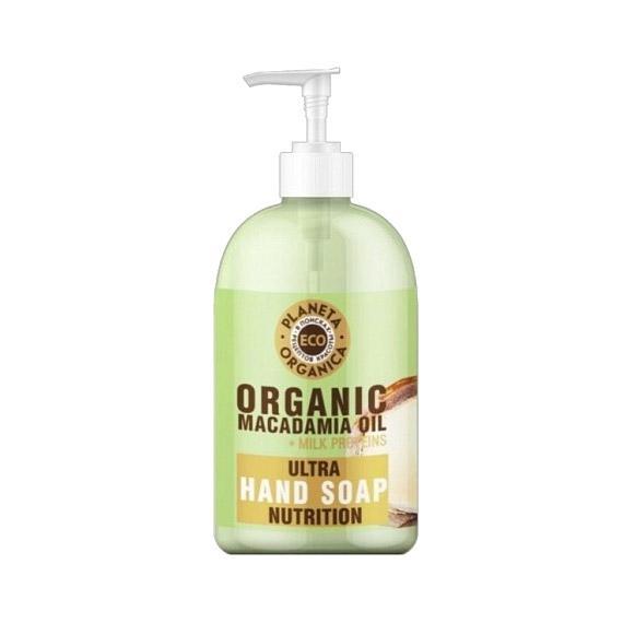 Мыло жидкое для рук Planeta Organica Eco Organic Питательное Macadamia Oil 300 мл недорого