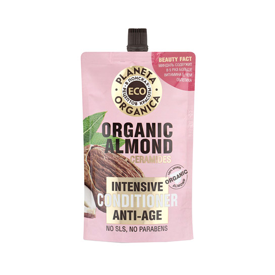 Омолаживающий бальзам Planeta Organica Eco Organic almond 200 мл недорого