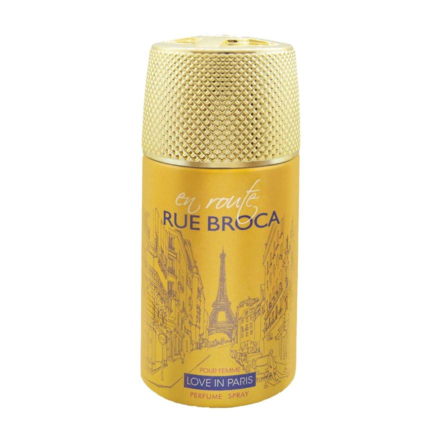 Дезодорант-спрей Rue Broca En Route Love In Paris женский недорого