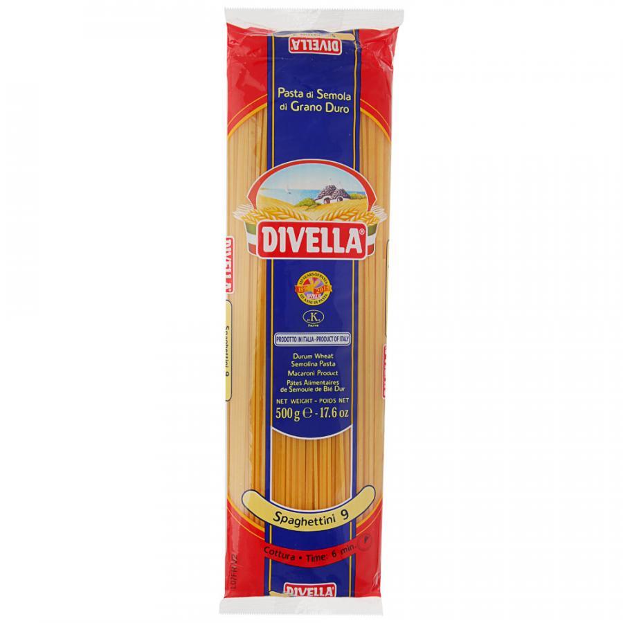 Фото - Паста Divella Spaghettini, 500 г макароны divella фузилли 500 г