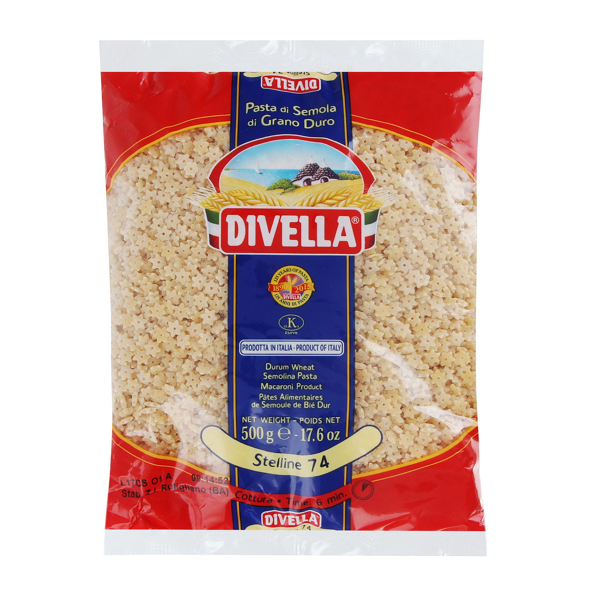 Макароны Divella Stelline 500 г макароны arrighi ньокетти 500 г