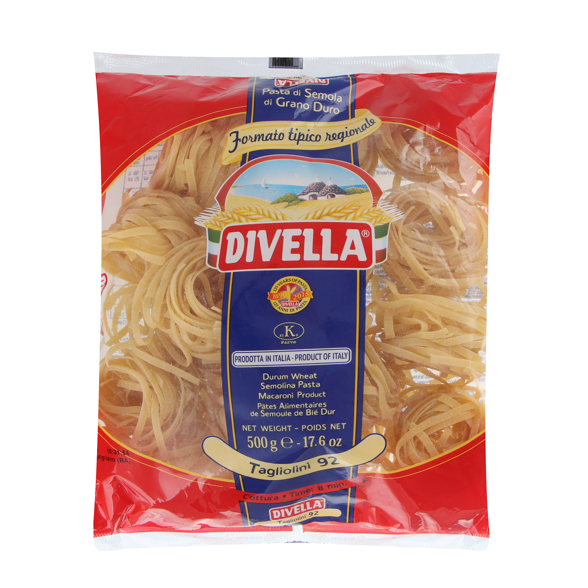 Фото - Макароны Divella Tagliolini 500 г макароны divella фузилли 500 г