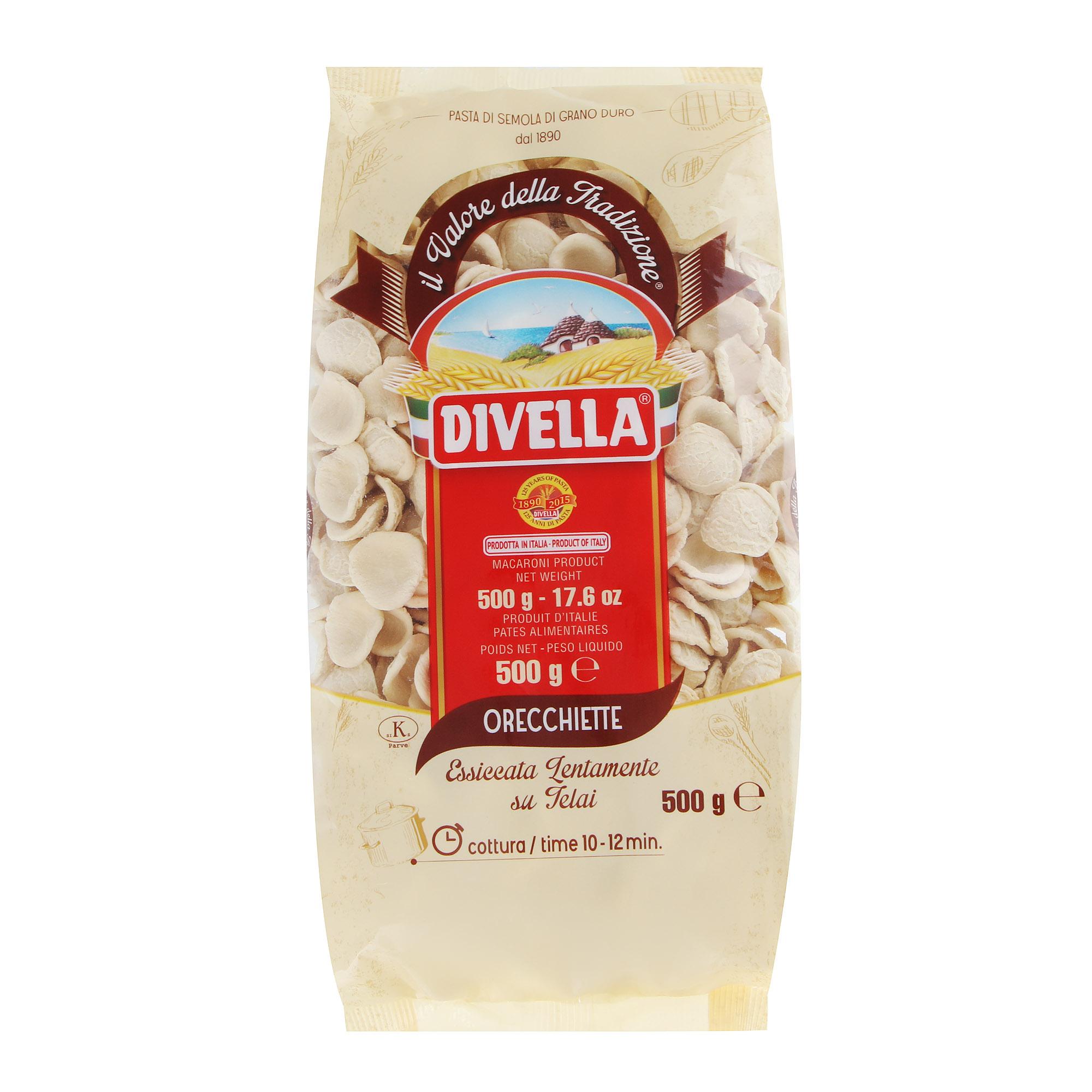 Фото - Макароны Divella Orecchiette 500 г макароны divella фузилли 500 г