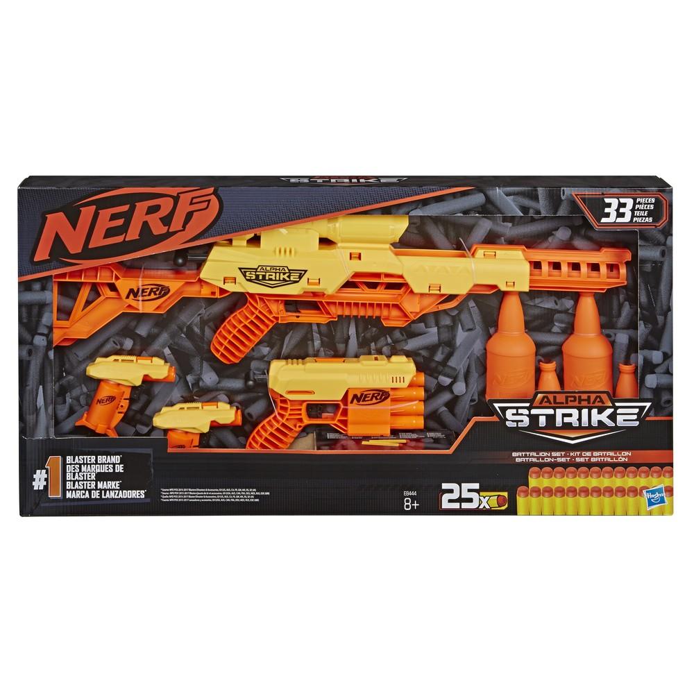 Набор игровой Hasbro Nerf Alfa Strike Батальон