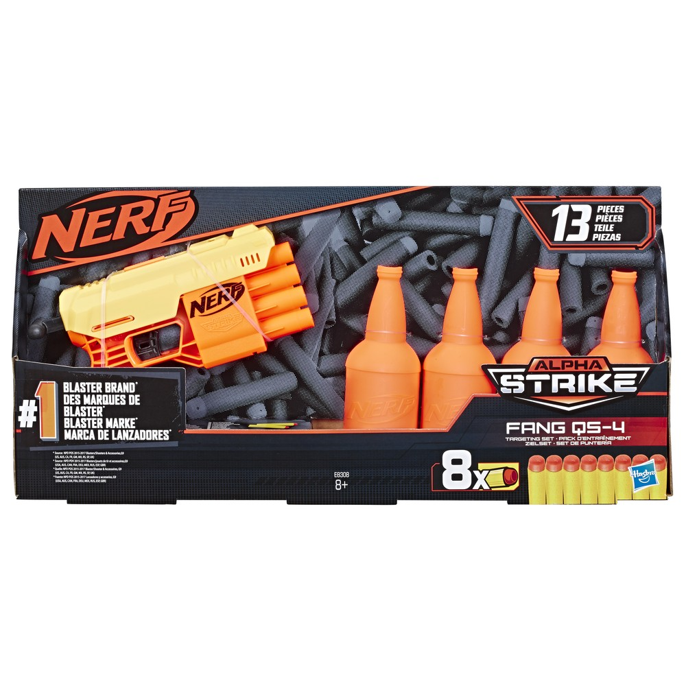 Набор игровой Hasbro Nerf Alfa Strike Фанг 33540