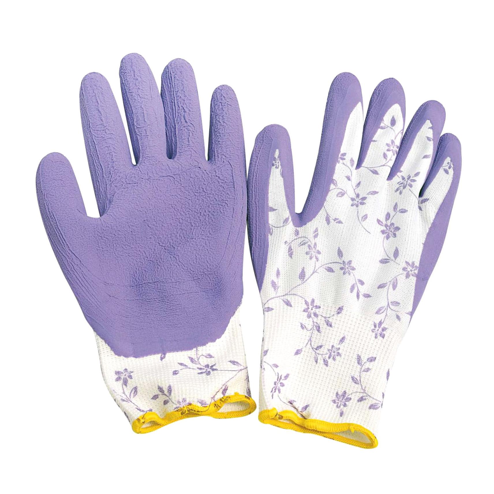 Фото - Перчатки садовые Verdemax бело-сиреневые s перчатки садовые verdemax серо зеленые m