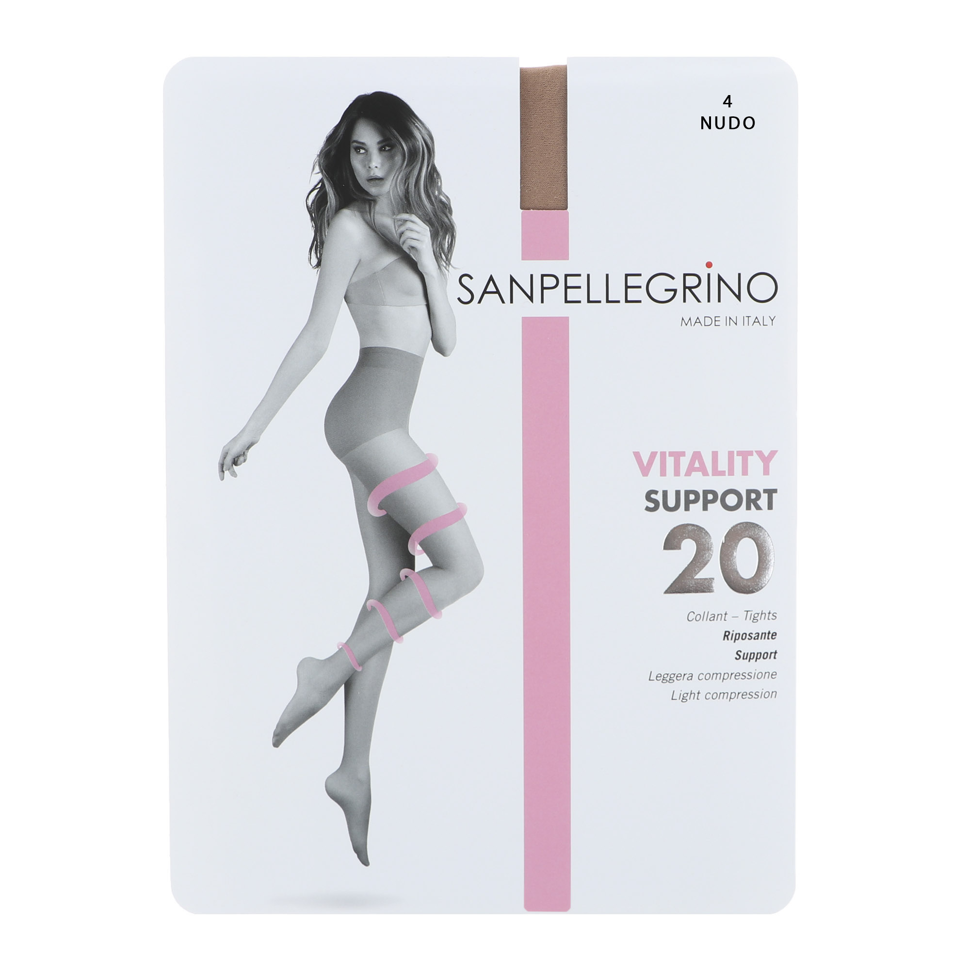 Колготки Sanpellegrino Support 20 Comfort Nudo XL колготки sanpellegrino comodo curvy 20 nudo xl