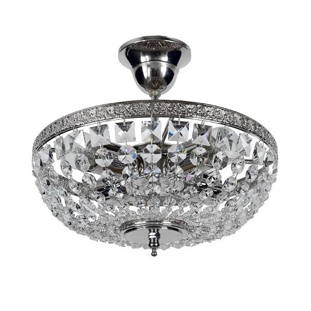 Люстра Arti lampadari favola 27х30 никель