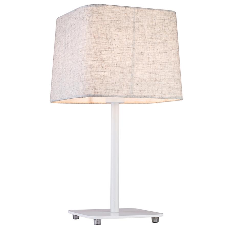 Лампа настольная Lucia tucci Bristol t894.1 48х25 белый
