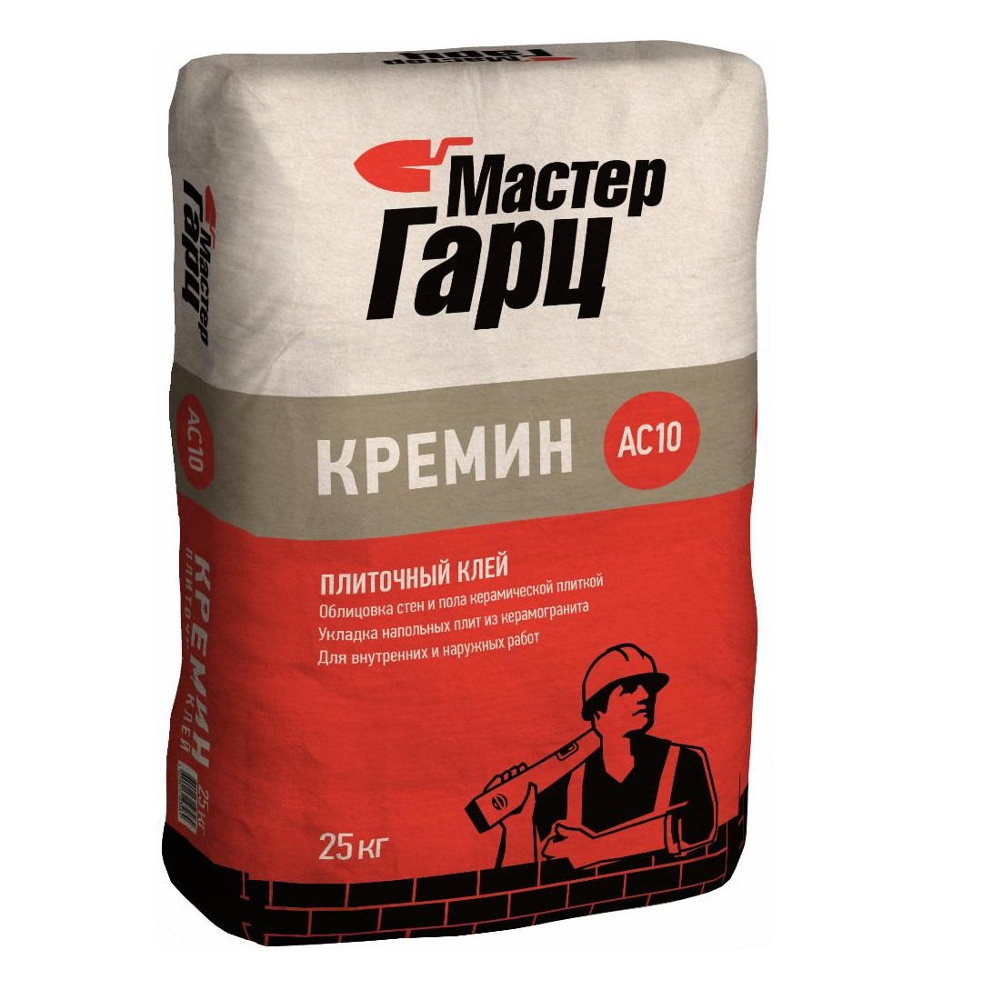 Клей Мастер гарц кремин ас10 25 кг