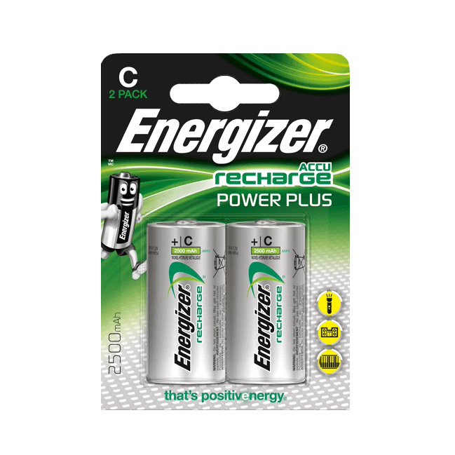 Батарейки аккумуляторные Energizer Power Plus NH35/C 2500 мА*ч 2 шт