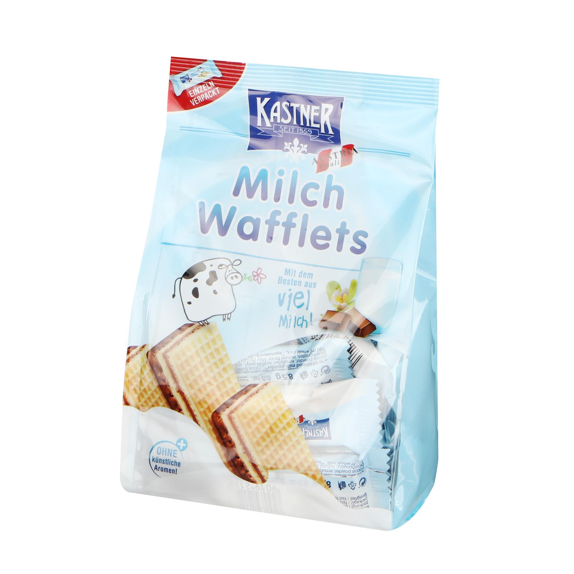 Вафли Kastner Milk молочные 153 г недорого