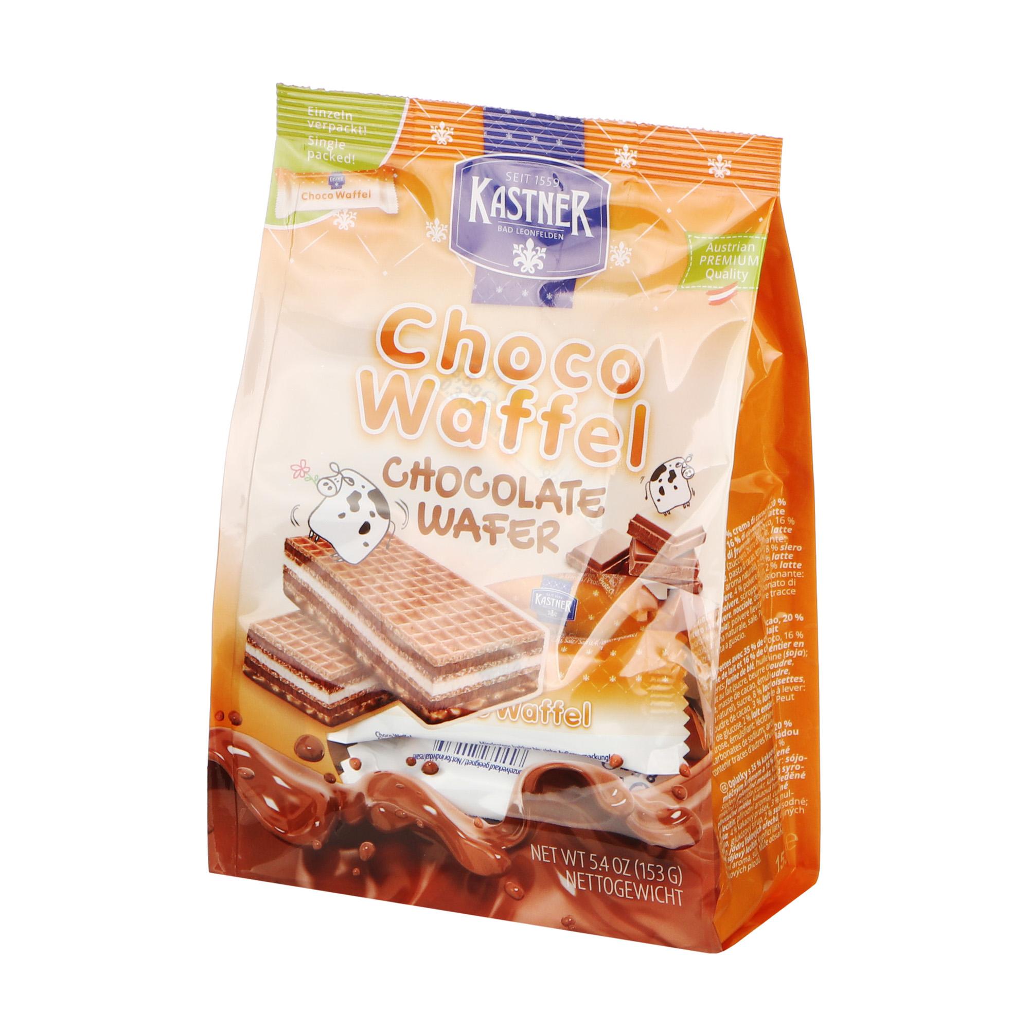 Вафли Kastner Choco шоколадные 153 г недорого
