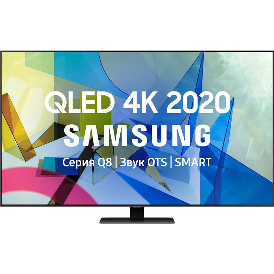 Фото - Телевизор Samsung QE55Q80TAUXRU телевизор samsung lcd 50 4k ue50tu7500uxru
