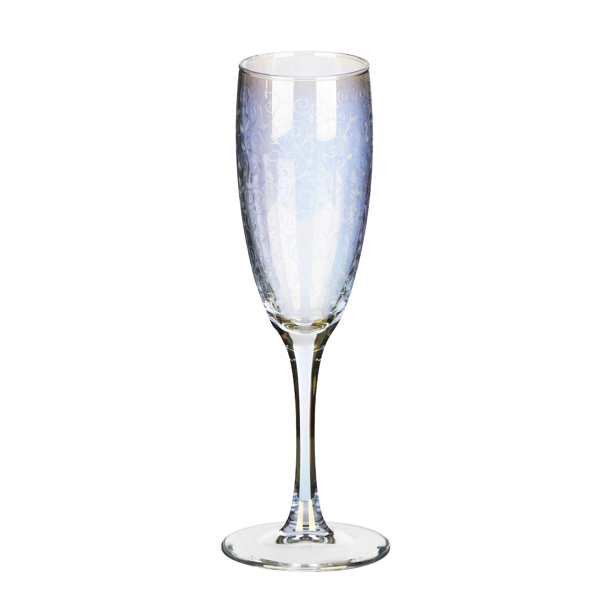 Набор бокалов Glasstar Весенний 170 мл 6 шт набор стаканов glasstar графитовый омбре 310 мл 6 шт